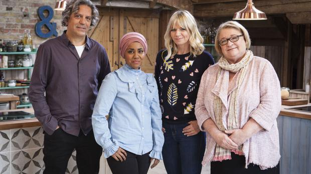 Giorgio Locatelli, Nadiya Hussain, Zoe Ball and Rosemary Shrager will appear on The Big Family Cooking Showdown