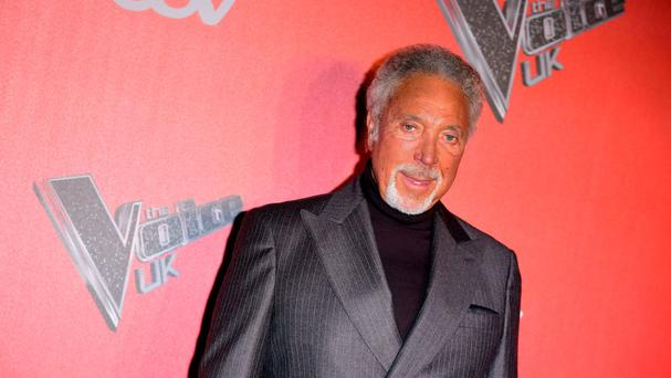 Sir Tom Jones will perform on The Voice on Sunday