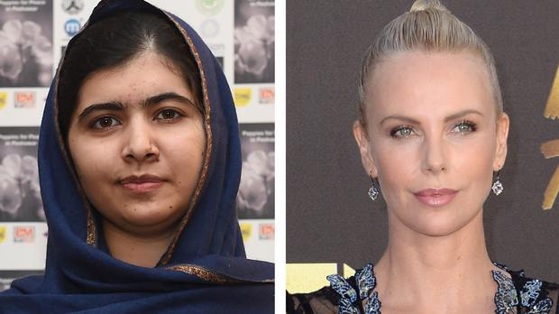 Malala Yousafzai and Charlize Theron are backing the ONE campaign