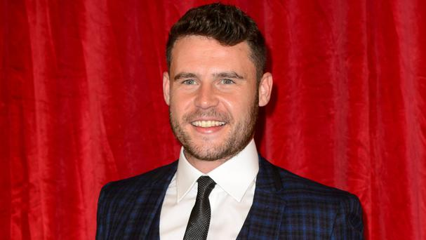 Danny Miller who plays Aaron Dingle in Emmerdale