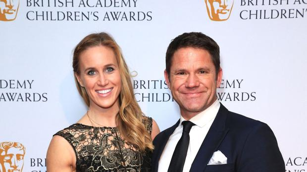 Steve Backshall said he and his wife Helen Glover may need up to a year before they start talking about children