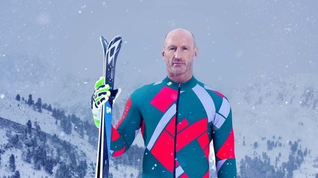 Gareth Thomas, one of the contestants in this year's Channel 4 reality sport show, The Jump.