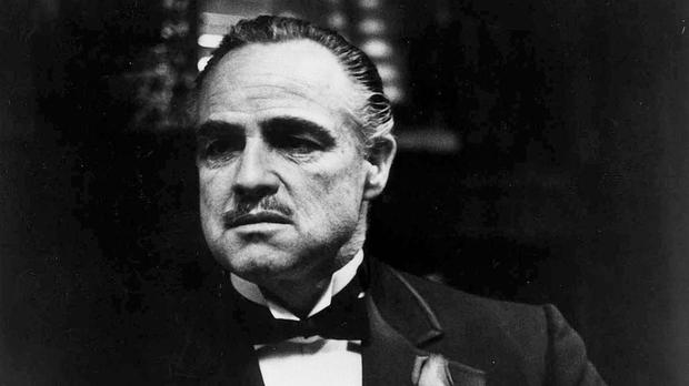 Marlon brando as vito corleone in the godfather