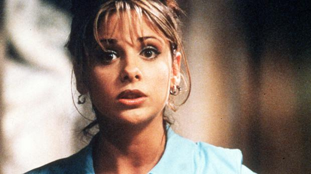 Sarah Michelle Gellar, star of the cult American show Buffy The Vampire Slayer, which celebrates its 20th anniversary