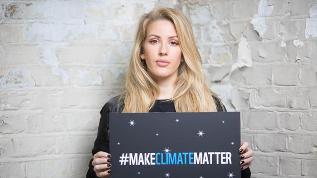 Ellie Goulding launches the WWF UK campaign #MakeClimateMatter ahead of Earth Hour on March 25