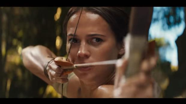 Alicia Vikander as Lara Croft (Warner Bros)