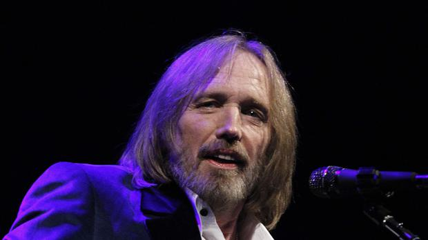 US singer Tom Petty