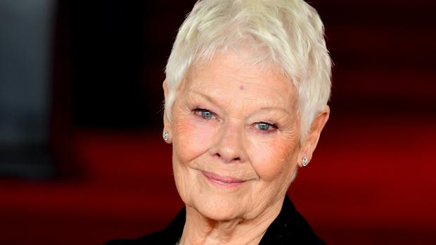 Dame Judi Dench is up for best actress