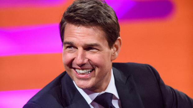 Tom Cruise said his ankle is still broken but he is filming stunts anyway. (Matt Crossick/PA)
