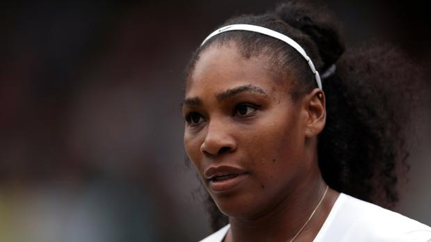 Serena Williams. Photo: PA