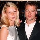 Paltrow and Pitt, who were briefly engaged, broke up in 1997 (PA)