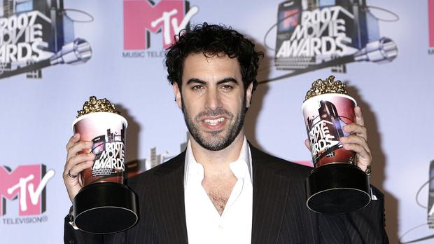 Sacha Baron Cohen dupes politicians and gun lobbyists