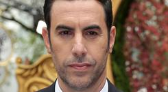 Sacha Baron Cohen is alleged by Sarah Palin to have posed as a wounded military veteran in order to dupe her during an interview (Daniel Leal-Olivas/PA)