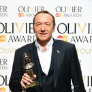 Kevin Spacey attending the Olivier Awards (Ian West/PA Images)