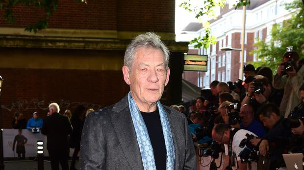 Sir Ian McKellen has announced that he will tour 80 theatres next year (Ian West/PA)