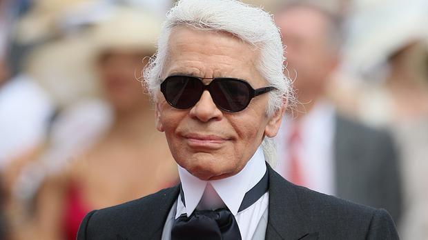 Tributes have been paid to Karl Lagerfeld (Dominic Lipinski/PA)