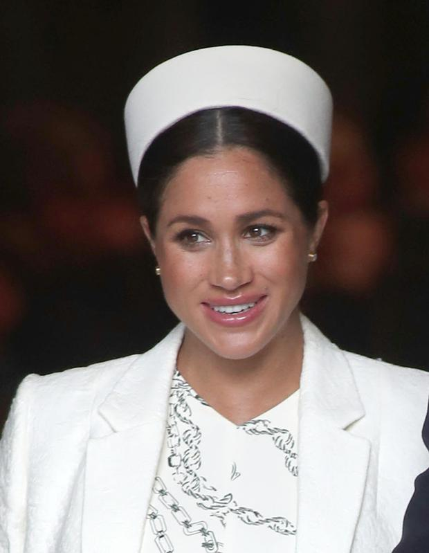 0108fe41 Fashion designer Tommy Hilfiger has admitted to being a fan of the Duchess  of Sussex (Steve Parsons/PA)