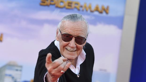 File pic of Stan Lee arriving at the Los Angeles premiere of Spider-Man: Homecoming (Jordan Strauss/AP)