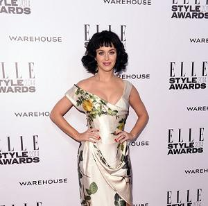 Katy Perry was crowned Woman Of The Year at the 2014 Elle Style Awards