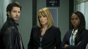 Fay Ripley stars in Suspects with Clare-Hope Ashitey and Damien Molony