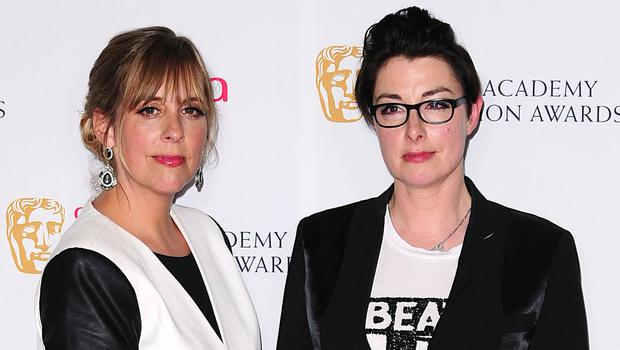 Former Bake Off stars Mel and Sue took part in Let's Sing And Dance For Comic Relief