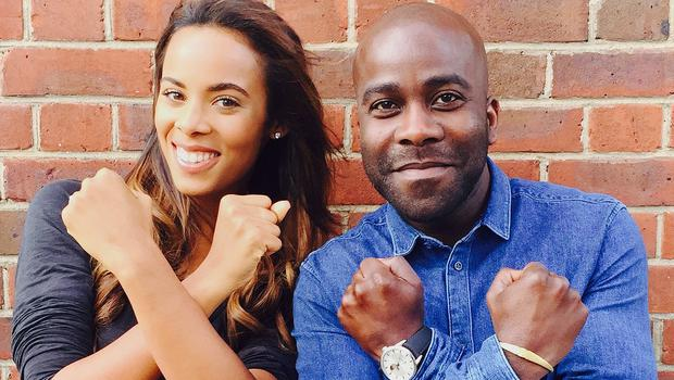 Saturdays star Rochelle Humes and Kiss FM DJ Melvin Odoom have signed on to present The X Factor's spin-off show (ITV/PA)