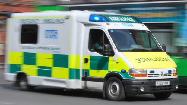 Michael Murphy was hit by the van on the busy M4 near Newport in south-east Wales (stock photo)