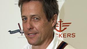 Hugh Grant became a father-of-three over the course of 15 months