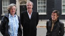 Top Gear presenters James May, Jeremy Clarkson and Richard Hammond were filming in Argentina