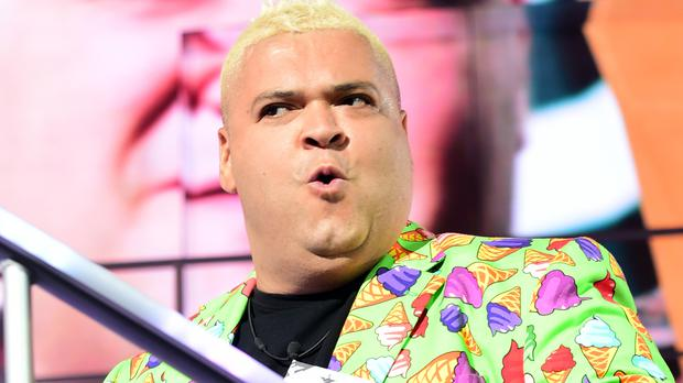 Heavy D was chosen to survive on 'slops' for a day