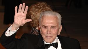 Kirk Douglas pictured in 2006, aged 90