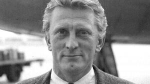 Kirk Douglas in the late 1950s, just after filming The Vikings