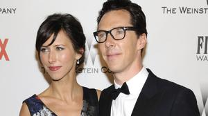 Benedict Cumberbatch and Sophie Hunter are expecting a baby