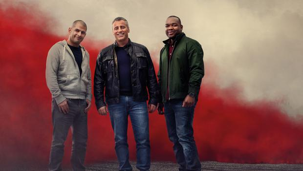 Top Gear presenters, from left, Chris Harris, Matt LeBlanc and Rory Reid will visit Cuba, Montenegro, Monte Carlo and Germany for the new series (BBC/PA)