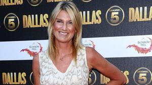 Sally Bercow has been forced to leave The Jump after breaking two ribs while skiing