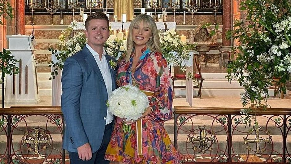 Pippa O'Connor and Brian Ormond renew their vows. Photo: Brian Ormond/ Instagram
