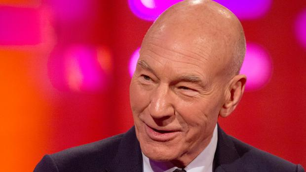 """Actor Patrick Stewart said he asked """"Washington insiders"""" what he could do about the US President"""
