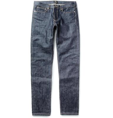 no.5 - the Dark Jeans. A deep, dark blue with no distressing will see you through many an occasion. For the most versatile fit go for slim, not skinny.