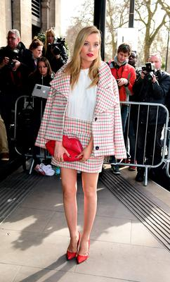 Laura Whitmore now: She's since left MTV News and has a budding career with ITV.
