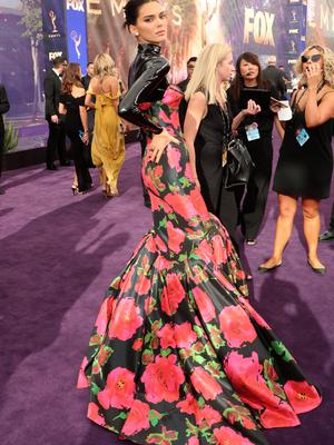 Kendall Jenner has also worn Richard Quinn on the red carpet