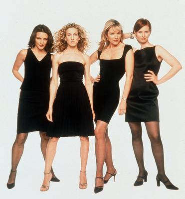The Sex and the City ladies brought the LBD to the fore in the 1990s