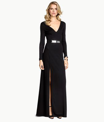 Black dress, (€39.99) H&M