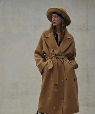 Coat from Macbees, €599
