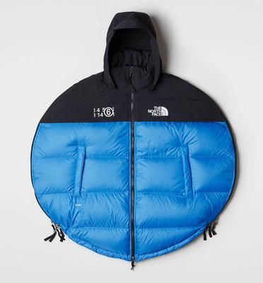 Blue circle jacket, €790 from MM6 x The North Face