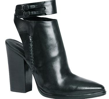 Cut-out boots, €760 by Alexander Wang at Brown Thomas