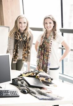 Keira and Dairine Kennedy, founders of the KDK fashion brand.
