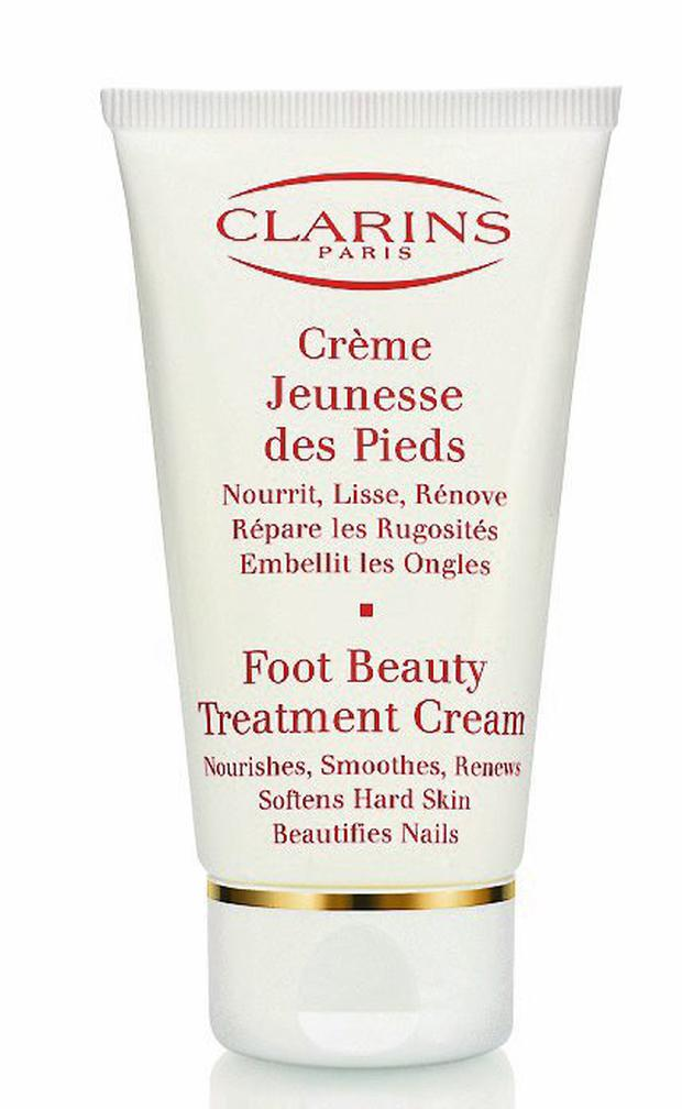 Clairns foot beauty treatment cream