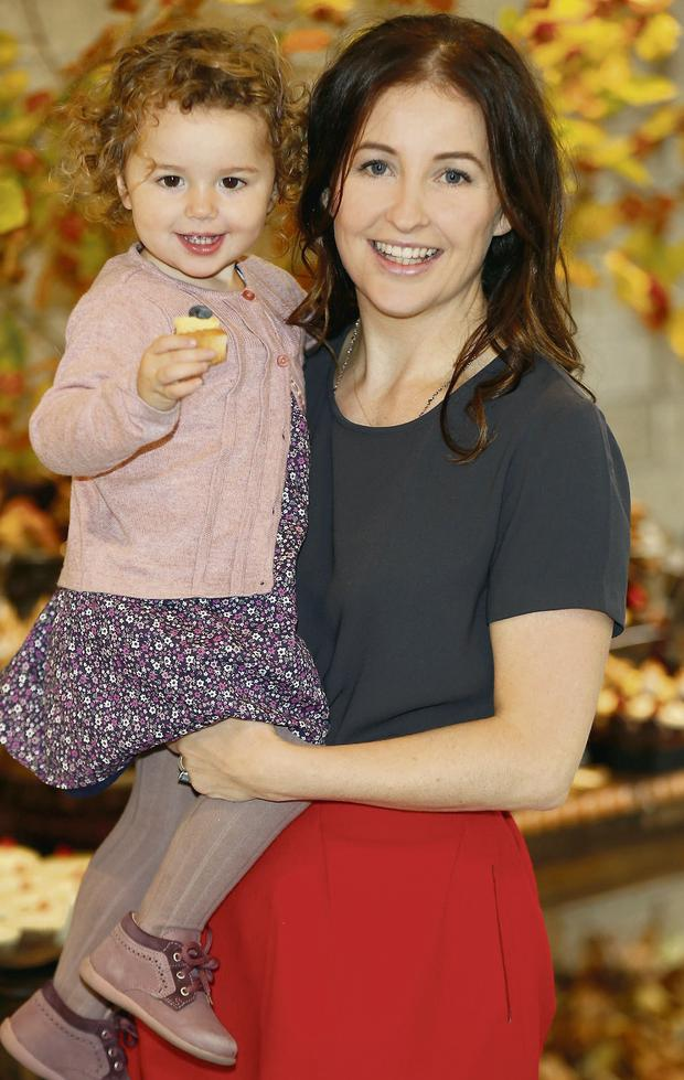 Designer Leigh Tucker, with her daughter Willow, has launched a new children's collection for Dunnes Stores