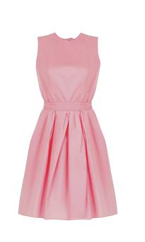 Carven Backless Pink Dress