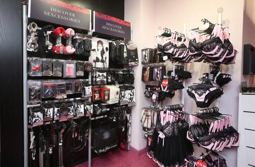 Ann Summers Store on O' Connell Street in Dublin